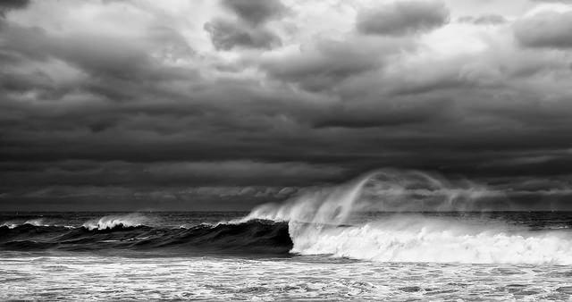 Wind. Waves. A HandUp.