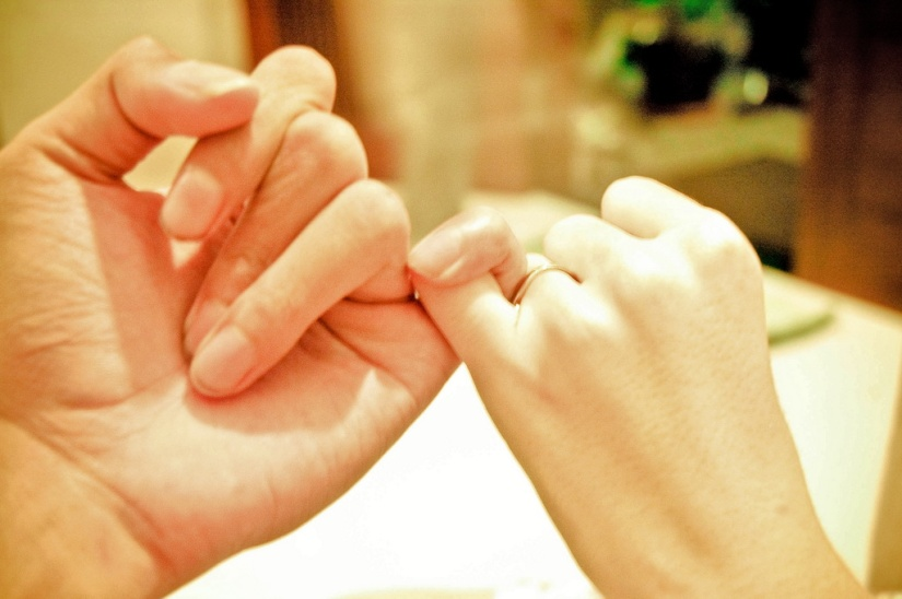 More than a pinkiepromise